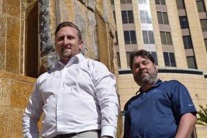 Mark Pitman and Jeffrey Barman