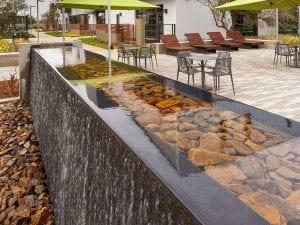 Elevon Water Feature