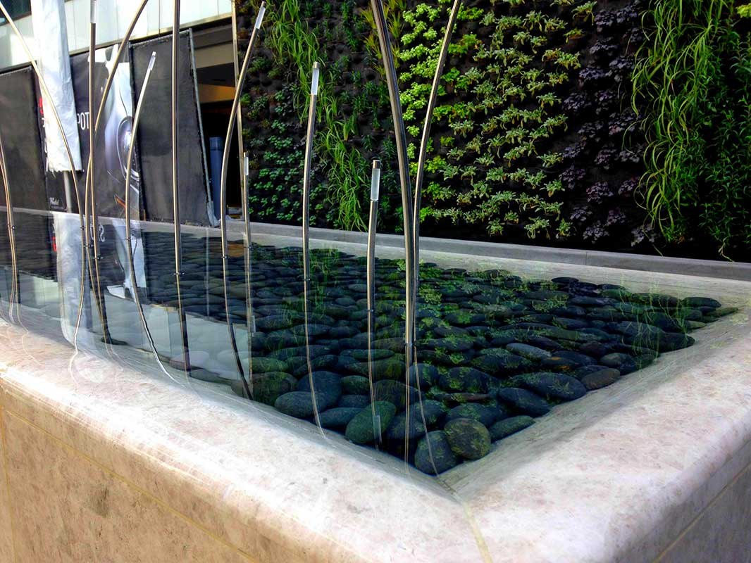 Westfield Century City water feature