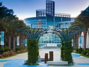 Anaheim Convention Center: Basalt Fountain