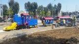 station square train