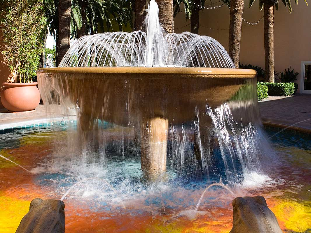 Tustin Water feature