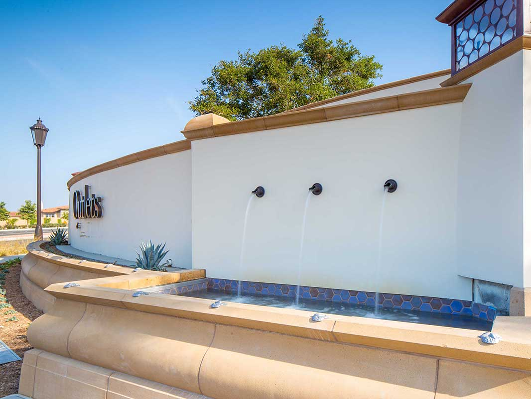 Outlets at San Clements Water Feature 1