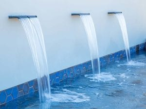 Outlets at San Clements Water Feature 5
