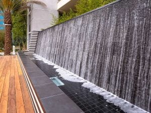 Airport Tower Water Features