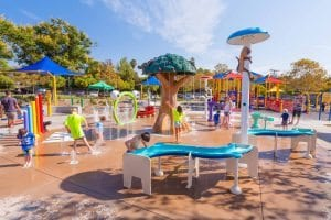 City of Temecula Margarita Park Splash Pad