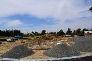 Splash Pad Construction - View 1