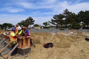 Splash Pad Construction - View 3