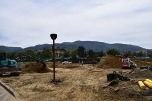 Splash Pad Construction - Week 2, View 1