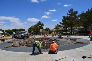 Splash Pad Construction - View 7