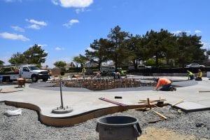 Splash Pad Construction - View 4