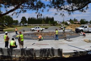 Splash Pad Construction - View 9