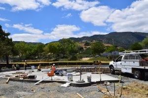 Splash Pad Construction - View 6