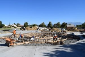 Splash Pad Construction - View 1