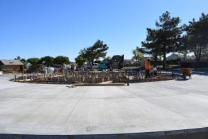 Splash Pad Construction - View 8