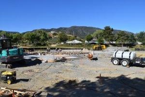 Splash Pad Construction - View 10