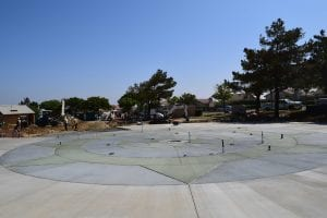 Splash Pad Construction - View 8