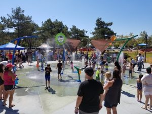 Ridgeline Splash Pad Ribbon Cutting