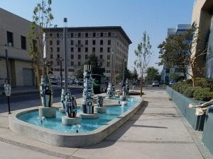 Fulton Mall Water Feature