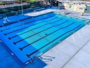 Columbia Middle School's Pool - View 1
