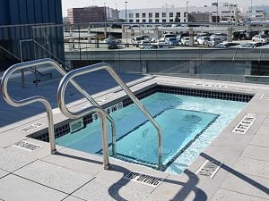 rooftop spa Downtown Los Angeles