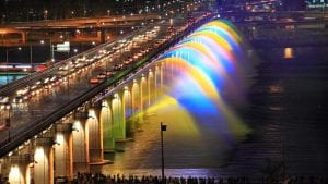 Beautiful fountains from across the globe