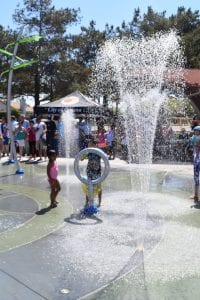 Community's Splash Pad Start-Up!
