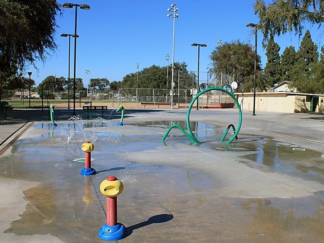 Valencia Parks Splash Pad