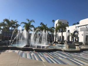 Oceanside Civic Center Fountain