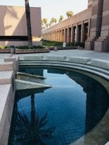 San Bernardino County Government Center Water Feature After Service