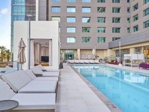JW Marriott Anaheim Podium Pool